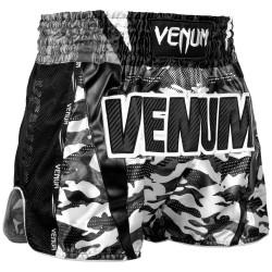 VENUM FULL CAM MUAY THAI SHORTS - URBAN CAMO/BLACK