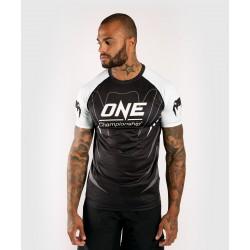 VENUM X ONE FC DRY TECH T-SHIRT - WHITE/BLACK