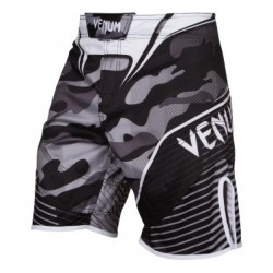 VENUM CAMO HERO FIGHTSHORTS - WHITE/BLACK S, M, L, XL
