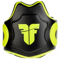 Belly pad Fighter Target - black/neon yellow