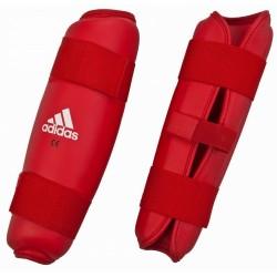 Adidas PU Shin Pads Red