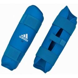 Adidas PU Shin Pads Blue