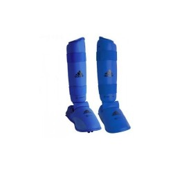 WKF Shin&Removable Instep Pad blue