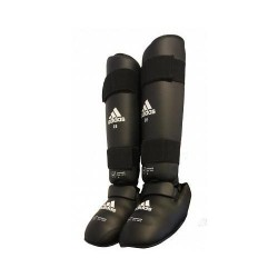 WKF Shin&Removable Instep Pad black