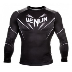 VENUM EYES RASHGUARD - BLACK