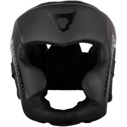 RINGHORNS CHARGER HEADGEAR-BLACK/BLACK