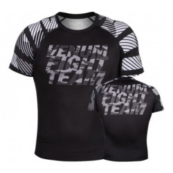 Venum Speed Camo Urban Rashguard Short sleeves Black