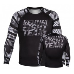 Venum Speed Camo Urban Rashguard Long sleeves Black